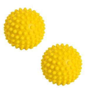 イタリア レードラプラスチック社製 ギムニク(Gymnic)触覚ボール10 ソフトタイプ (2個1組) 黄色 10cm LP-9750(リフレックスボール)