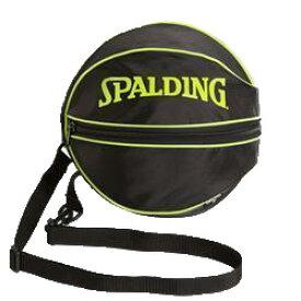 【SPALDING】 スポルディング  ボールバッグ ライムグリーン 49-001LG