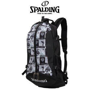 【SPALDING】 スポルディング  ケイジャー スーパーマン グレー リュックサック ボールバック バックパック CAGER 40-007SMG