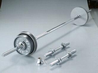 武術世界 (武術) 杠鈴和啞鈴鐵 barberdampbell 套 35 公斤
