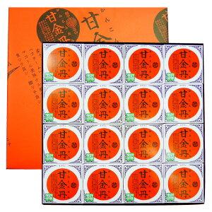 富山銘菓甘金丹16個入箱