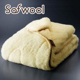 毛布 ダブルサイズ The PREMIUM sofwool(ザ プレミアムソフゥール)あったか掛け毛布 セミダブルサイズ(約 160×190センチ)【送料無料】【キャッシュレス 還元 対応】