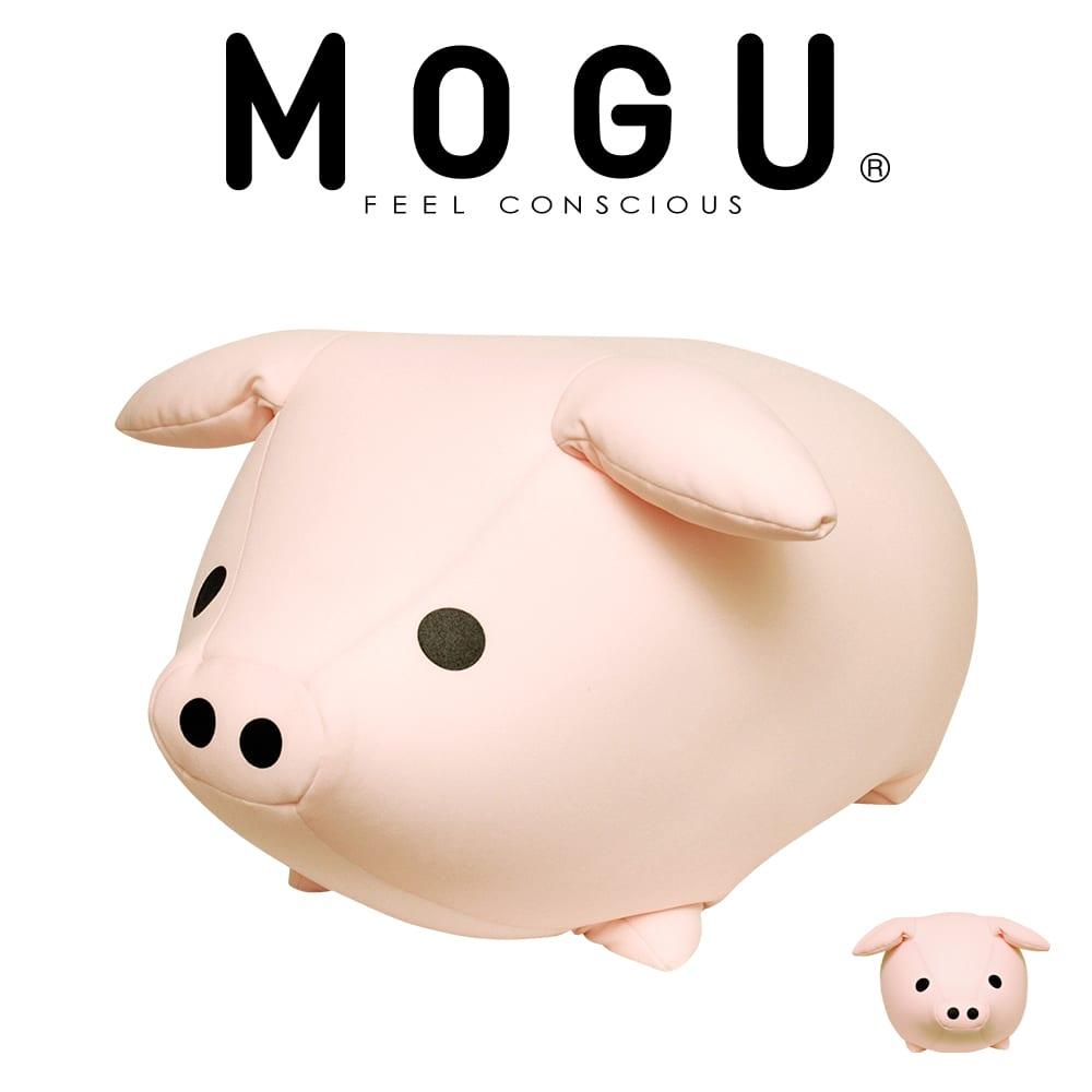 抱き枕 キャラクター MOGU(モグ) もぐっちブー(ベビーピンク) かわいいブタさんのカタチの抱き枕です♪ 【ギフトラッピング無料】【もぐっちぶー 抱きぐるみ 動物 アニマル クッション 正規品 インテリア だきまくら 抱きまくら】