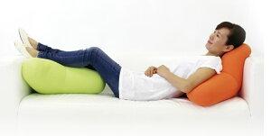 MOGUCARE(モグケア)頭と上半身を支えるクッションパウダービーズの優しい感触約横55×縦55×奥行22cm【ギフトラッピング無料】【日本製介護補助褥瘡床ずれ防止体圧分散リラックス食事背当て背もたれ座椅子椅子リラックス腰】