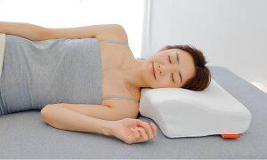 スマートネックフィット首にやさしくフィットする安眠枕【ギフトラッピング無料】【まくらピローウレタン低反発洗える体圧分散高さ調整頸椎横向き寝ストレートネックかため高め高い】【N】
