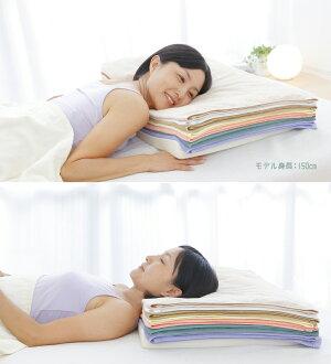 7バスタオルピロータオル好きなあなたのための枕約50×35cm【まくら/ピロー/タオル/バスタオル/ウレタン/セブンバスタオルピロー】【日本製】【ギフトラッピング無料】【N】