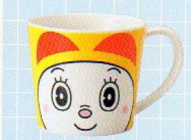 【子供用(キッズ)】ドラえもん マグカップ ドラミちゃん フェイス マグカップ 陶器 電子レンジ・食器洗浄機対応可能
