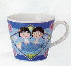 【子供用(キッズ)】ちびまる子ちゃん マグカップ 魚 マグカップ 陶器 電子レンジ・食器洗浄機対応可能
