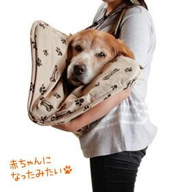 【大型犬用介護用品】3WAY 抱っこハニカムマット(ショルダー付)