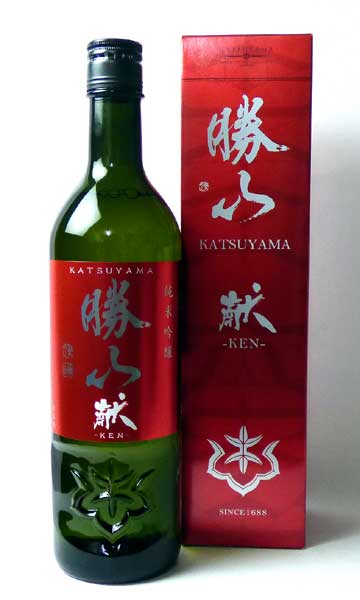 勝山 純米吟醸 献 720 『あす楽』【赤ワイン】【あす楽】