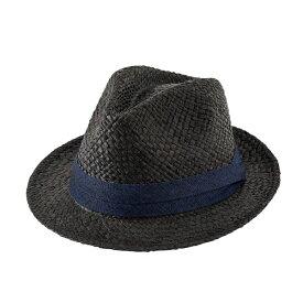 ハット 中折れ帽ハット 帽子 メンズ ブラック 黒 ナチュラル リボンハット 無地 男性用 女性用 レディース レディス 男女兼用 中折れハット 春夏 ギフト