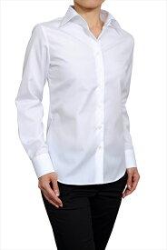 レディースシャツ レディース ワイシャツ | シャツ ドレスシャツ 長袖 ビジネス ノーアイロン yシャツ 綿100% 長袖シャツ ブラウス おしゃれ 形態安定 日本製 ビジネスシャツ カッターシャツ ボタンダウン オフィス しわになりにくい 白シャツ イージーケア シワになりにくい