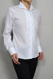 レディース ワイシャツ イタリアンカラー シャツ ドレスシャツ 長袖 ビジネス yシャツ おしゃれ クールビズ ブラウス 日本製 イタリアンカラーシャツ オフィス カッターシャツ クールマックス 大きいサイズ 白シャツ 白 coolmax 夏 高級 ビジネスシャツ 女性 事務服 きれいめ