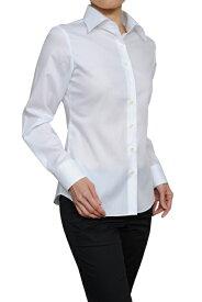 レディース シャツ ワイシャツ | ドレスシャツ 長袖 ビジネス yシャツ おしゃれ クールビズ ブラウス 日本製 ビジネスシャツ オフィス カッターシャツ クールマックス 大きいサイズ 白シャツ 白 ワイドカラー 長袖ワイシャツ coolmax 夏 高級 女性 ミセス 事務服 きれいめ