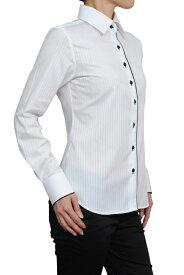 レディース シャツ ワイシャツ| ドレスシャツ 長袖 ビジネス yシャツ おしゃれ ブラウス 日本製 ビジネスシャツ オフィス カッターシャツ 形態安定 大きいサイズ 4L 白シャツ 女性用 白ワイシャツ ワイドカラー オシャレ ホワイト