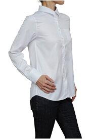 レディース シャツ ワイシャツ リラックスフィット | ドレスシャツ 長袖 ビジネス yシャツ おしゃれ クールビズ ブラウス 日本製 ビジネスシャツ オフィス カッターシャツ クールマックス 大きいサイズ 白シャツ ワイドカラー coolmax 夏 高級 女性 ミセス 事務服 きれいめ