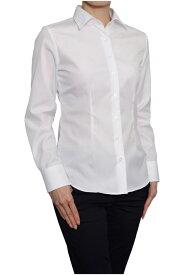 レディースシャツ レディース ワイシャツ | シャツ ドレスシャツ 長袖 ビジネス ノーアイロン 綿100% 長袖シャツ ブラウス おしゃれ 形態安定 スリム 日本製 ビジネスシャツ 細身 スリムフィット カッターシャツ ボタンダウン Yシャツ しわになりにくい 白シャツ