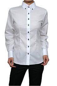 レディースシャツ レディース 高級 ワイシャツ ドレスシャツ ボタンダウンシャツ 長袖 ビジネス 3L カッターシャツ Yシャツ 白 ホワイト シャツ 白シャツ ビジネスシャツ 長袖シャツ ホワイトシャツ 女性 ビジネスワイシャツ フォーマルシャツ しわになりにくい フォーマル