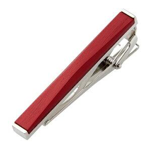 ネクタイピン タイピン タイクリップ アルマイト 日本製 メンズ ギフト レッド 赤   タイバー ネクタイ ピン 男性 プレゼント 誕生日プレゼント バレンタイン 彼氏 かわいい かっこいい おし