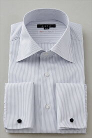 ダブルカフスシャツ ドレスシャツ   シャツ メンズ ワイシャツ ダブルカフス ブルー 青 ビジネス ノーアイロン 長袖シャツ おしゃれ 形態安定 スリム 結婚式 ビジネスシャツ 細身 形状記憶 スリムフィット カッターシャツ 紺 カフスシャツ Yシャツ フォーマル ノンアイロン