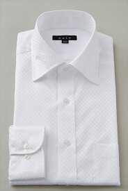 ドレスシャツ 長袖ワイシャツ ワイシャツ タイトフィット スリムタイプ スリム細身 ワイドカラー メンズ おしゃれ Yシャツ 白シャツ|シャツ ビジネス トールサイズ スリム クールビズ カッターシャツ クールマックス トール coolmax 夏 高級 長袖 ビジネスシャツ 春夏 父の日