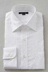 ドレスシャツ 長袖ワイシャツ タイトフィット スリム ワイドカラー メンズ おしゃれ オシャレ Yシャツ ホワイト 白| シャツ ビジネス トールサイズ 大きいサイズ カッターシャツ 無地 形態安定 白ワイシャツ プレミアムコットン ワイシャツ 高級 長袖シャツ 綿100%