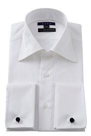 ダブルカフスシャツ ドレスシャツ| ワイシャツ ダブルカフス メンズ 高級 シャツ おしゃれ 長袖 カフス 白シャツ トールサイズ ビジネス カフスボタン スリム 綿100% カフスシャツ カッターシャツ Yシャツ 大きいサイズ 結婚式 ビジネスシャツ メンズドレスシャツ フォーマル