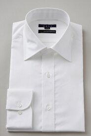 ドレスシャツ 長袖ワイシャツ タイトフィット スリム ワイドカラー メンズ おしゃれ オシャレ Yシャツ ホワイト 白| シャツ ビジネス トールサイズ 大きいサイズ カッターシャツ 無地 プレミアムコットン ワイシャツ 高級 長袖シャツ 綿100% コットンシャツ スーツ