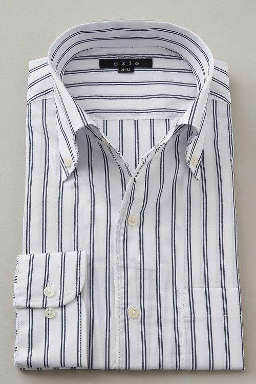 イタリアンカラーシャツ|イタリアンカラー メンズ スリム ドレスシャツ ボタンダウンシャツ 綿100% トールサイズ ビジネス おしゃれ ビジネスシャツ カッターシャツ ストライプシャツ Yシャツ ストライプ ボタンダウン 白 高級 ワイシャツ シャツ 白シャツ 長袖シャツ トール