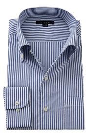 イタリアンカラー シャツ メンズ ドレスシャツ | ワイシャツ 高級 おしゃれ ビジネス ボタンダウンシャツ 長袖 紺 クールマックス カッターシャツ ビジネスシャツ トールサイズ Yシャツ 大きいサイズ ボタンダウン coolmax 仕事 カラー サイズ豊富