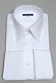 カフスボタン付き フォーマル ダブルカフスシャツ ドレスシャツ 結婚式 カフスシャツ メンズ Yシャツ   ワイシャツ ダブルカフス 高級 シャツ 長袖 カフス トールサイズ 綿100% カッターシャツ 大きいサイズ メンズドレスシャツ 白 おしゃれ フォーマルシャツ