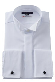 ウイングカラーシャツ ウィングカラーシャツ メンズ フォーマル 結婚式 白無地 新郎| ワイシャツ シャツ ドレスシャツ 高級 長袖シャツ 綿100% 長袖 おしゃれ yシャツ トールサイズ 大きいサイズ カッターシャツ 白シャツ 白 タキシード トール モーニングシャツ