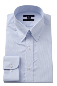 ドレスシャツ | ワイシャツ ブルー 青 メンズ 高級 シャツ おしゃれ 長袖 トールサイズ ビジネス スリム 綿100% カッターシャツ Yシャツ 無地 スナップダウン ビジネスシャツ カラーシャツ トール スーツ メンズドレスシャツ 大きいサイズ フォーマル フォーマルシャツ