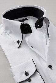 ドレスシャツ 長袖 高級 ワイシャツ 長袖シャツ ドゥエボットーニ ボタンダウンシャツ メンズ Yシャツ ビジネス 白| シャツ 綿100% おしゃれ トールサイズ ビジネスシャツ カッターシャツ ボタンダウン 白シャツ メンズワイシャツ 白ワイシャツ 結婚式 二次会 フォーマル