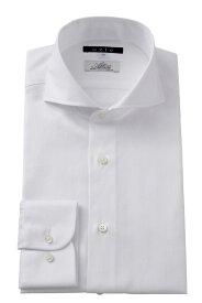 ドレスシャツ 長袖 ワイシャツ ホリゾンタルカラーシャツ スリム ビジネスシャツ メンズ おしゃれ Yシャツ 高級 | ホリゾンタルカラー シャツ カッタウェイ ビジネス カッターシャツ 大きいサイズ メンズドレスシャツ 白 ホワイト 白シャツ 白ワイシャツ フォーマル