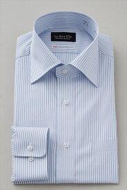 ドレスシャツ 長袖ワイシャツ メンズ 高級 ワイシャツ ブルー 青 長袖シャツ ビジネス 綿100% おしゃれ ビジネスシャツ 日本製 カッターシャツ ストライプシャツ オフィス Yシャツ ストライプ 男性 ワイドカラー コットンシャツ ホワイト シャツ ワイドカラーシャツ