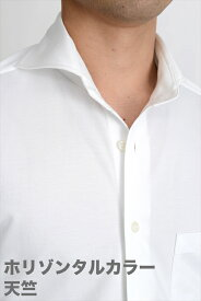 ビズポロ ニット クールマックス ドライ | ワイシャツ ポロシャツ 生地 ホリゾンタルカラー メンズ シャツ ドレスシャツ ビジネス 高級 おしゃれ 長袖 スリム ニットシャツ Yシャツ ビジネスシャツ 白 カッタウェイ クールビズ 夏 涼しい 夏用 ホリゾンタル cool
