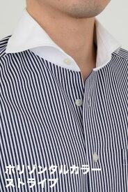 ビズポロ ニット|ワイシャツ ポロシャツ 生地 ホリゾンタルカラー メンズ シャツ ドレスシャツ ビジネス 高級 おしゃれ 長袖 スリム 紺 ニットシャツ Yシャツ ビジネスシャツ ネイビー クレリックシャツ カッタウェイ クールビズ 夏 夏用 クールマックス 涼しい ホリゾンタル