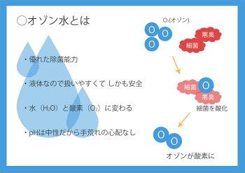 デオシャワー家庭用オゾン水生成器
