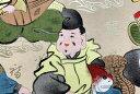 友禅紙総柄 中 年始の七福神めぐり人気の柄  『七福神』