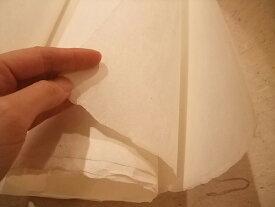 茨城 西の内紙 3×6生 晒