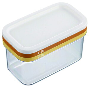 【あす楽対応】 バターケース バターカッティングケース 450g 200g バター専用 ST-3006 便利グッズ