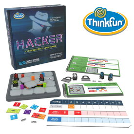 シンクファン ハッカー THINK FUN ホワイトハッカー 脳トレ 迷路 パズル プログラミング 教育 知育玩具