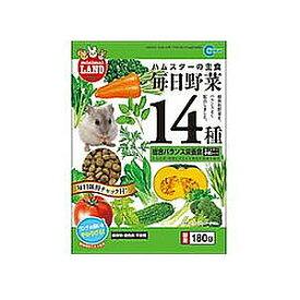 マルカン毎日野菜14種ハムスター用180g(うさぎ ハムスター リス モルモット おやつ やどかり フード)