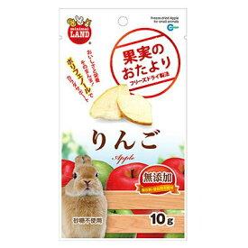 マルカンML−83果実のおたよりりんご10g(うさぎ ハムスター リス モルモット おやつ やどかり フード)