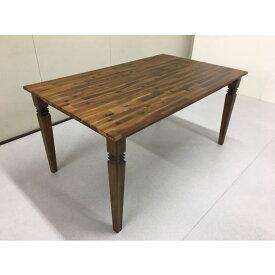 クーポン テーブル ダイニングテーブル おしゃれ 150 セール 木製 ブラウン ナチュラル アンティーク ビンテージ カフェ 4人 4人掛け バカラ 人気