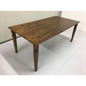 テーブル ダイニングテーブルダイニング カフェ風 北欧風 バカラダイニングテーブル 単品 送料無料 ブラウン 西海岸 ヴィンテージ風 215 人気 セール