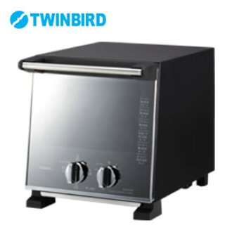 ☆ Slim oven toaster-uneven vertical slim thermal four-stage switching bread toasters not baked A4 size width toast two simultaneous baking oval au gratin dish OK fashionable mirror alone alone Twinbird store Rakuten life music city