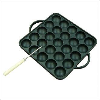 ☆ ikenaga tekko takoyaki pins with 25 holes-kitchen utensils pot Pan takoyaki plate Rakuten shopping life music city