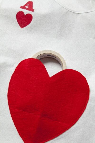 ハートトランプ[不思議の国のアリストランプ兵隊コスプレコスチューム衣装ハロウィンイベント仮装]【839390】